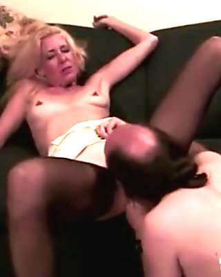 Mature blond is hungry for some cock