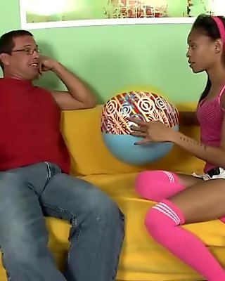 Teen Latina Gets Fucked For Good
