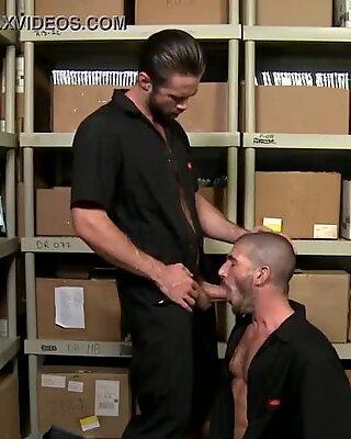 Screwing my warehouse buddy