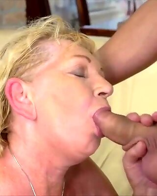 gilf Gets Fucked Firm By A Stud Half Her Age