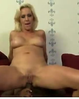 Mature MILF takes on big black cock 3
