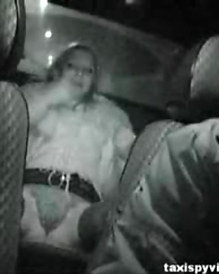 Hot blonde slut from faketaxi goes crazy segment