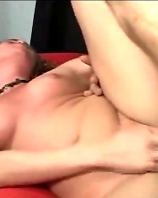 Big ass young blonde and mom fucked by stud in threesome