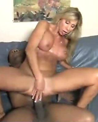 Hot Wild Mom with Big Tits gets Pounded by Black Cock 24
