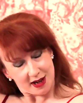 Mature mistress jerk dick