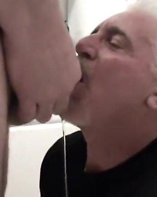 mouthful of cum