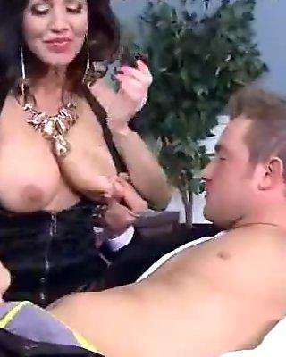 Hard Intercorse Action With Big Tits Slut Mommy (tara holiday) clip-29
