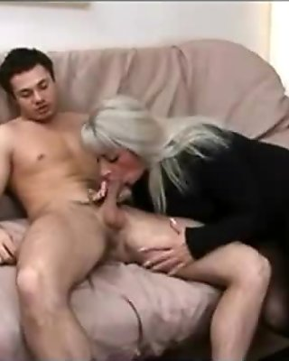 Russian Mature MILF Elena gets nailed from behind