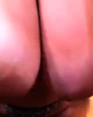 Meet her on MATURE-FUCKS.COM - Huge hanging tits on older lady