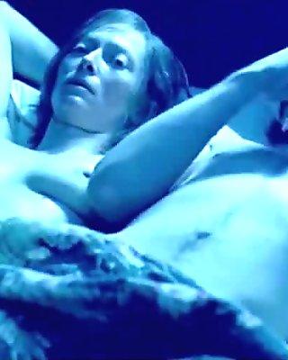 Tilda Swinton Nude Boobs In Young Adam Movie