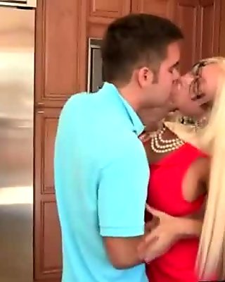 Rikki Six Got Banged in the Kitchen by her Bf