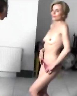 Wild MILFs lapdancing and playing with dick