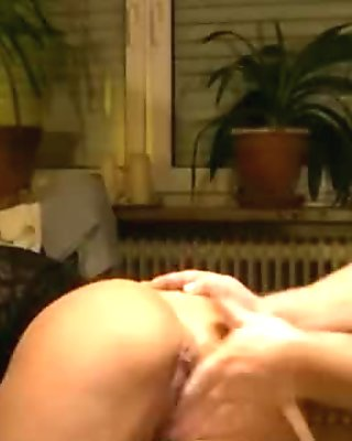 Insane deep fisting for wifes greedy pussy