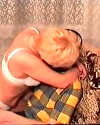 Amazing Homemade movie with Blonde, Russian scenes