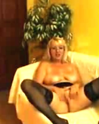 Breasty mature I'd like to fuck stripping and playing with herself on cam