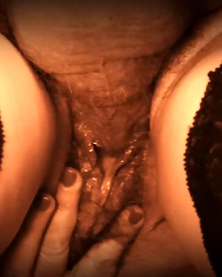 Doggy messy creampie close-up
