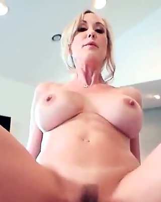 Hard Style Sex Practice On Cam By Big Round Tits Housewife (Brandi Love) video-10