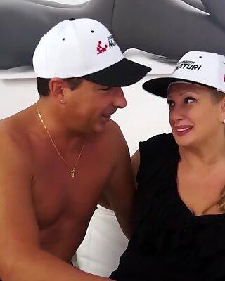 LETSDOEIT - Mature Italian BBW Wants To Enter The Porn World