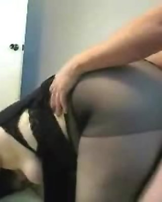 Mature gets fucked doggystyle