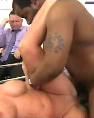 Mom makes son watch her get fucked by big black cock 250