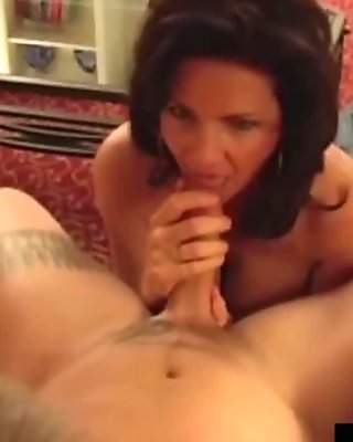 Big Busty Milf, Deauxma, Fucks Young Stud As Hubby Watches!