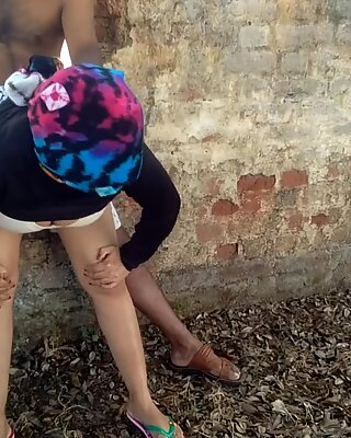 Sonali Shinha Outdoor Anal Sex with Staranger Doggy Fuck in Abandoned Home