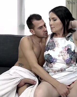 Surprise cake equals surprise fuck by young stud - Ilsa
