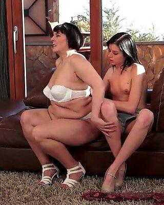 Fat Grandmas and Pretty Teen Brunettes