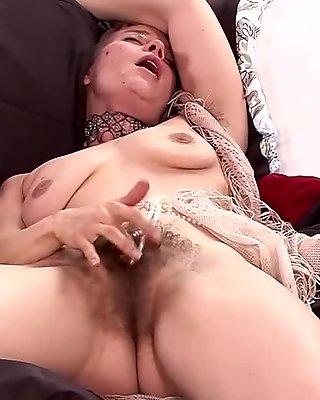 Natasha Moon in Masturbation Movie - ATKHairy