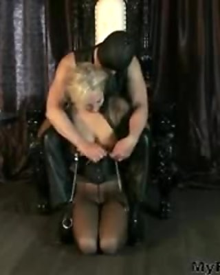 Big Boobs And Nippel Tortured With Clips And Weights mature mature porn granny old cumshots cumshot