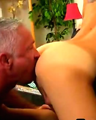 Horny twink getting his ass licked and fucked hard