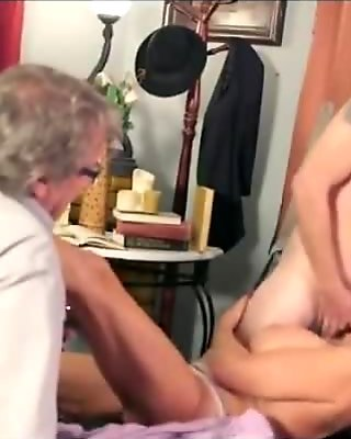 junior guy fucks hot lady beside her husband