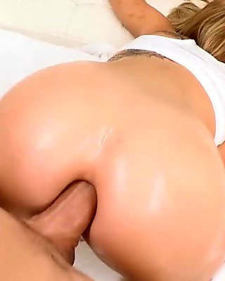 Lusty pounding from a biggest rod