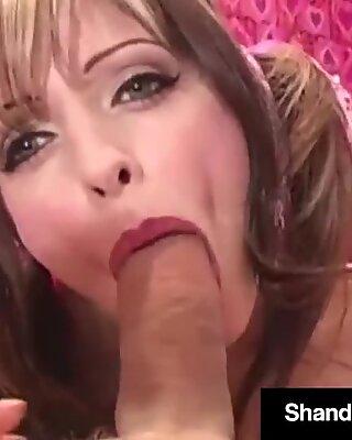 Horny Housewife Shanda Fay Gets molten Valentine ass-fuck internal cumshot