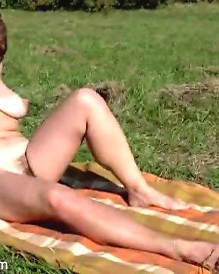 Audrey and Misti pleasure a big boner