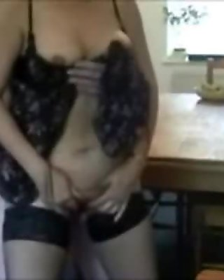 Mature Housewife Sucking Cock on Camera