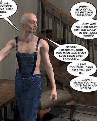 3D Comic: Oldquest House 1-3