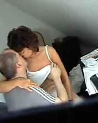old couple fuck on hidden cam!