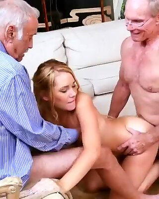 Chinese daddy Frannkie And The Gang Tag Team A Door To Door Saleswoman - Raylin Ann