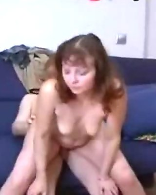 Russian Mom and Son