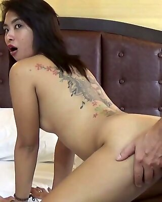 So sensual and sophisticated how his long cock slides in her and she enjoys every inch