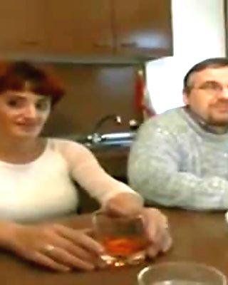 Mature Italian Couple Enjoys Anal