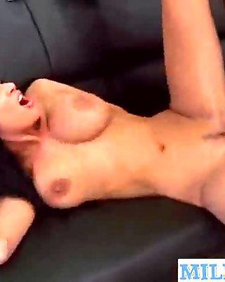(anissa kate) Slut Mature Lady Lick Suck And Ride Huge Black Cock mov-04