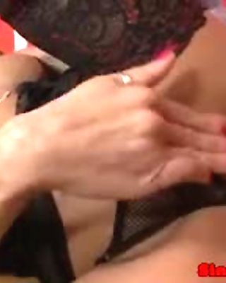 Kinky pierced mature harcore drilled