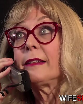 youthfull Office Assistant Fucked By hotwife wifey Nina Hartley