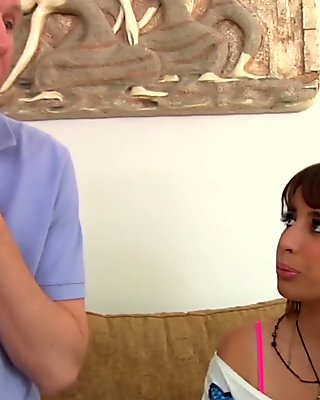 EvilAngel Teen Nails Interview by getting Nailed