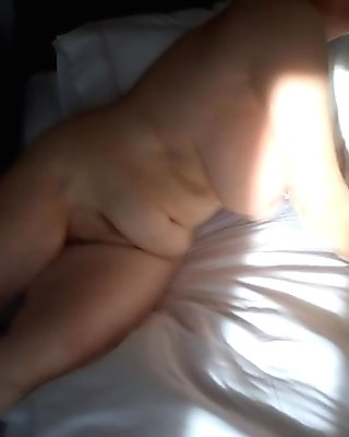 Awesome mature body tits ass waking up by MarieRocks