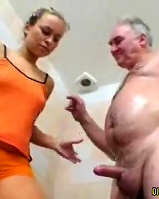 olderman and youthfull woman