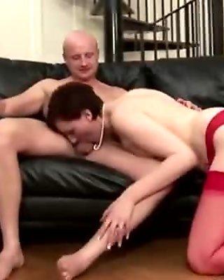 Dick loving eurotrash bj
