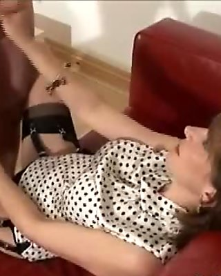 Mature stocking milfs suck cock video